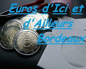 Piece-2-euros-commemorative-PORTUGAL-2012-UNC-Les-10-ans-de-l-039-euro-UNC