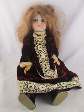 Antique Queen Louise Armond Marseille AM Bisque Composition Doll Glass Eyes 288