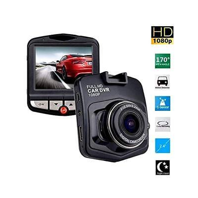 "2.4/"" 1080P HD Car DVR Dash Vehicle Camera Video Recorder Cam Night Vision G-S"
