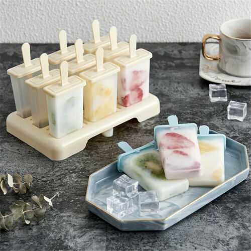 DIY Fruit Ice Cream Maker Popsicle Mold Ice-lolly Mold Ice Cream Mould