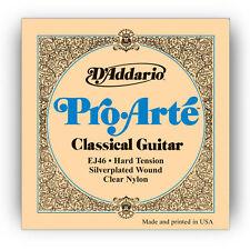 D'Addario EJ46 Pro Arte Hard Tension Classical Silver Nylon Guitar Strings