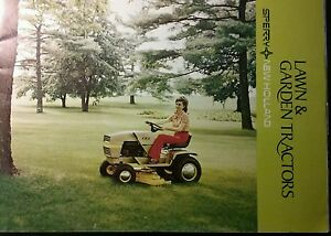 Image Is Loading Sperry New Holland S14 Lawn Garden Tractor FULL