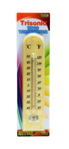 Indoor Hanging Wooden Thermometer Temperature Meter Monitor Gauge bath /& sauna