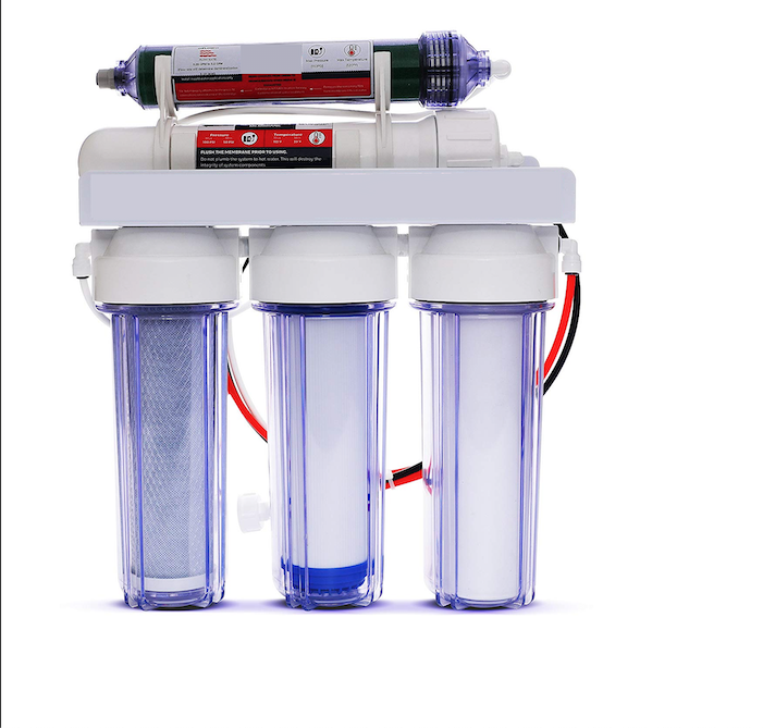 Premier Aquarium Reef 50 GPD Reverse Osmosis 5 Stage RO DI System   MADE IN USA