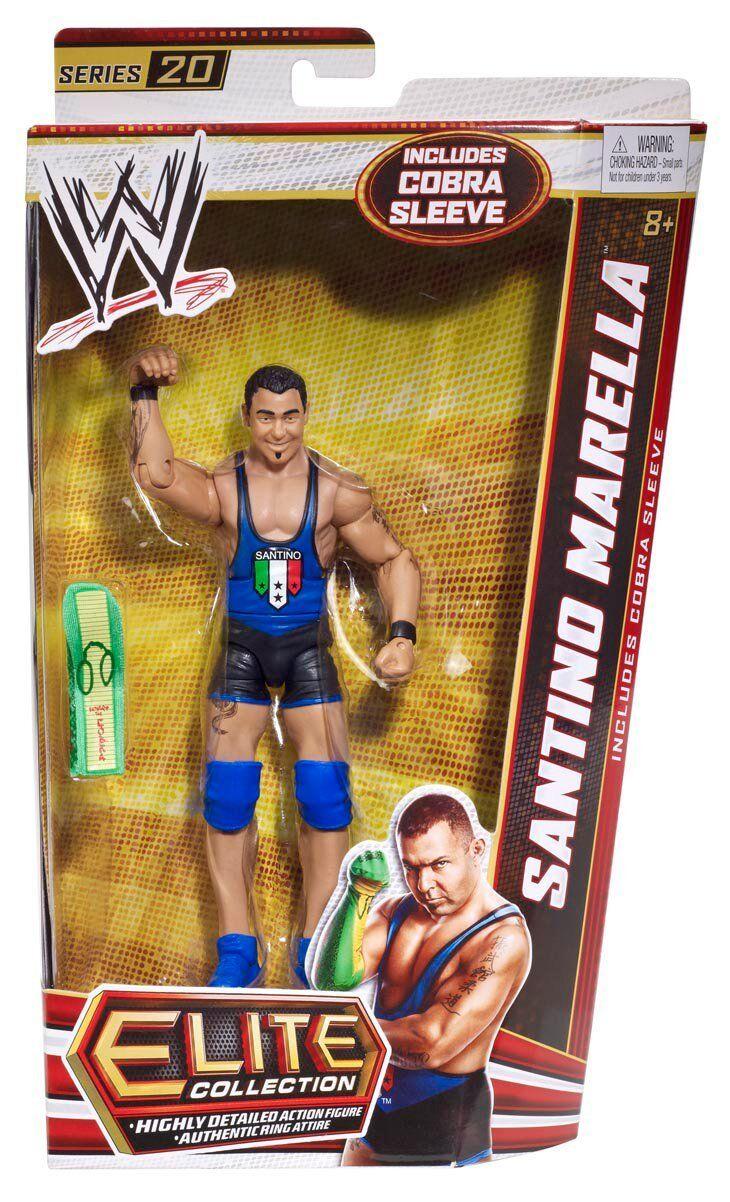 WWE Elite Collection Santino Marella Action Figure NEW