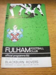 25081965 Fulham v Blackburn Rovers  Slight Creased - Birmingham, United Kingdom - 25081965 Fulham v Blackburn Rovers  Slight Creased - Birmingham, United Kingdom