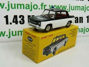 Voiture-1-43-reedition-DINKY-TOYS-DeAgostini-RENAULT-R-8-Police