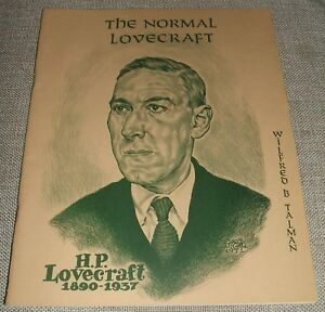 1973-Limited-First-edition-of-The-Normal-Lovecraft-with-Sonia-amp-H-P-L-Photos