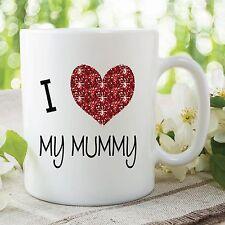 I Love My Mummy Kids Novelty Mug Coffee Cup Mother's Day Birthday Gift WSDMUG304