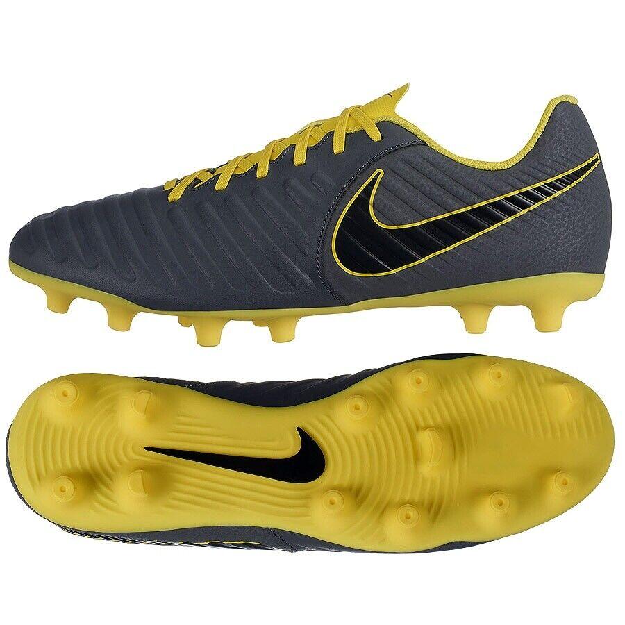Zapatos Nike Tiempo Legend 7 Club FG AO2597 070 gris 41 Fútbol Fútbol botas