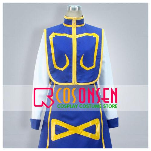 Cosonsen Hunter x Hunter Kurapika Kurta Cosplay Costume Full Set Custom Made
