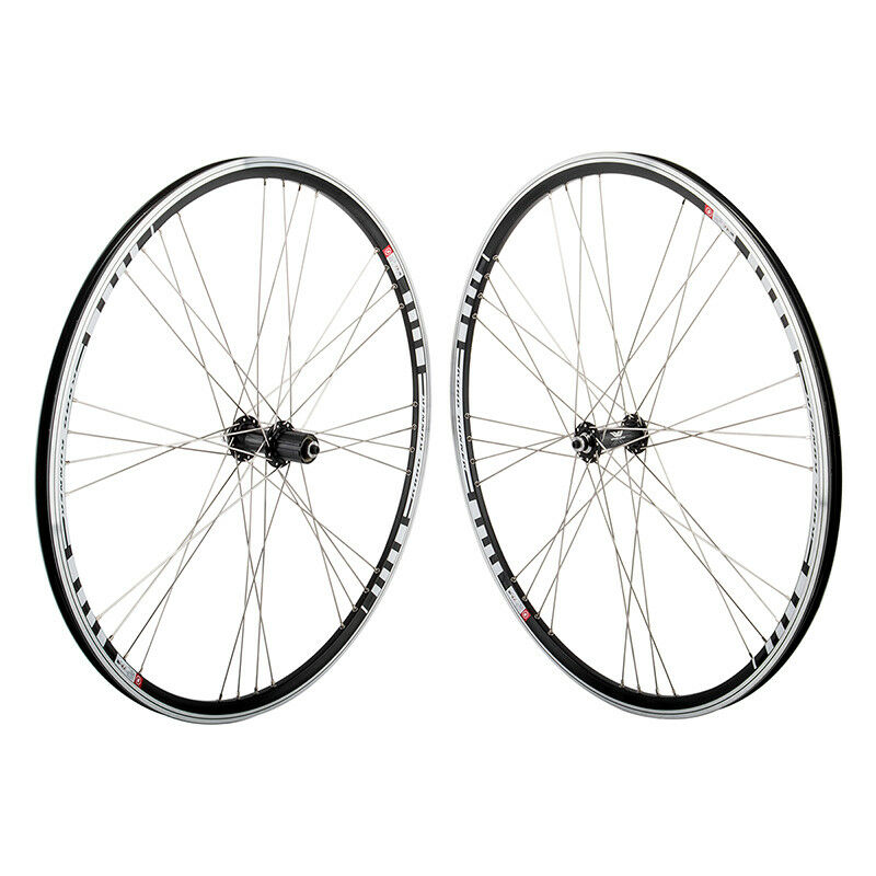 Mach1 Road Runner Wheels Road Bike Wheelset  8 x 4H 7-10, QR Fits SRAM Shimano