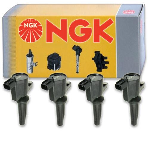 4 pcs NGK 48846 Ignition Coil for U5019 36-8053 48846 178-8328 DG537 ey