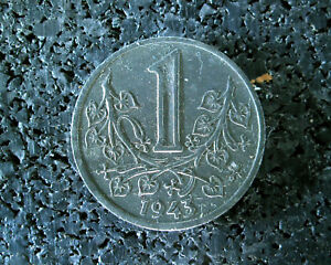1 Krone - Protektorat Böhmen-mähren - 1943 - (ut7n152)