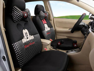 18pcs women love Carton Mickey Mouse car seat cover Four seasons ... 15476d13f