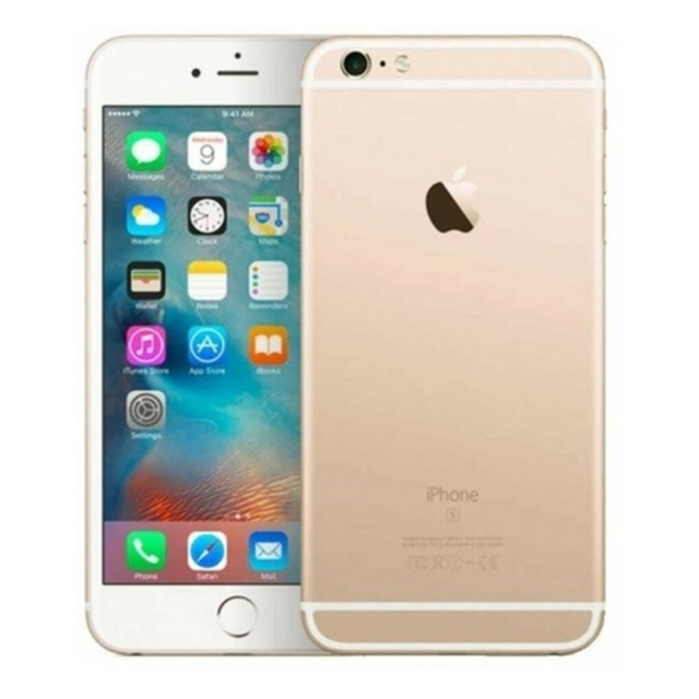 iPhone 6S, GB 128, Apple iPhone 6S 128GB (Guld) - Grade B