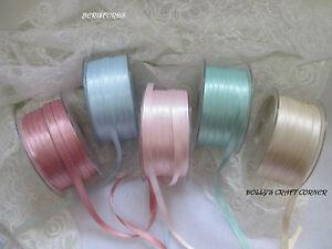 Berisfords-Satin-Ribbon-Soft-Vintage-Colours-3mm-7mm-10mm-15mm-25mm-50mm