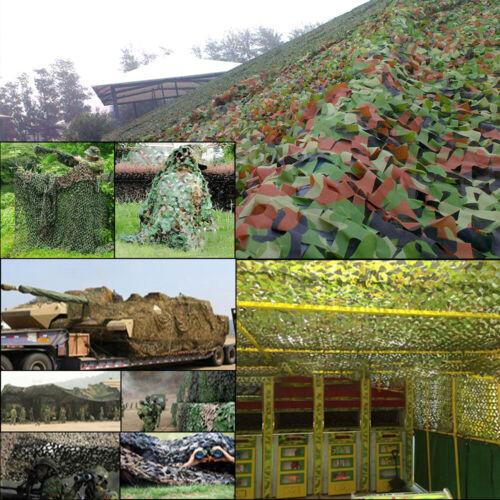 Tarnnetz Sichtschutz Sonnenschutz Tarnung für Camping Bars Jagd Camouflage Deko