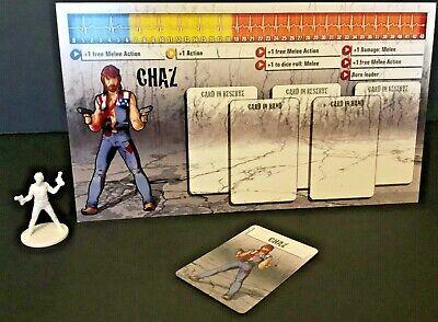 Zombicide GREEN HORDE New Kickstarter Exclusive Hero Sigrun Dash Card
