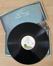 Bob Marley Wailers catch a fire UK zippo  very rare pink palm island lp  vinyl