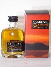 Whisky Balblair 1990 single malt 5cl 46 % vol. mini flasche bottle miniature