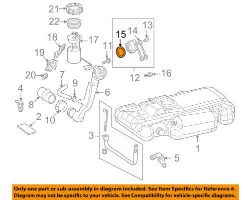 Dodge CHRYSLER OEM 03-06 Sprinter 2500 2.7L Fuel System-Fuel Cap Seal 5133916AA