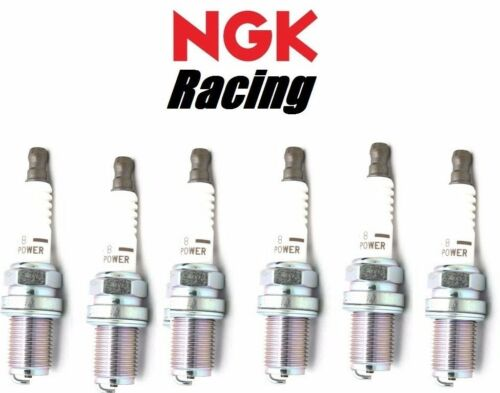 6 Ultra Kalt NGK V-Strom Racing Zündkerzen HR10 für Toyota JZA80 Supra 2JZ-GTE