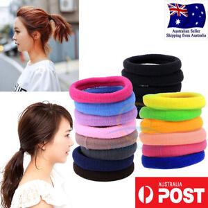 Women-Girls-colorful-8pc-Hair-Band-Ties-Rope-Elastic-Hairband-Ponytail-Holder