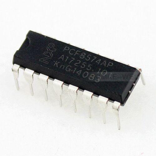 2x PCF8574AP Expander Port 8-Bit DIP16 I2C TWI Integrierten Schaltkreis PCF8574