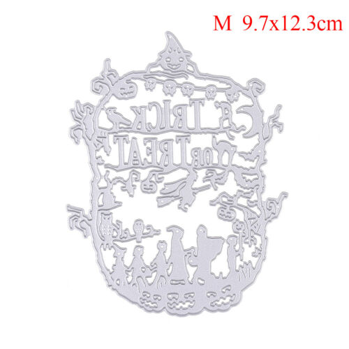 Halloween Serie Witch Metal Cutting Dies Stencil for DIY Scrapbook Album Card TK
