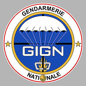 Earnest Autocollant Gign Gendarmerie Elite Nationale 9cm Sticker Moto Auto Ga059 High Standard In Quality And Hygiene Badges, Insignes, Mascottes