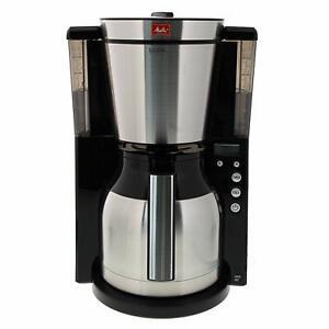 Melitta-Machine-a-Cafe-de-Filtre-Carafe-Isotherm-Minuterie-Selecteur-Parfum-Noir