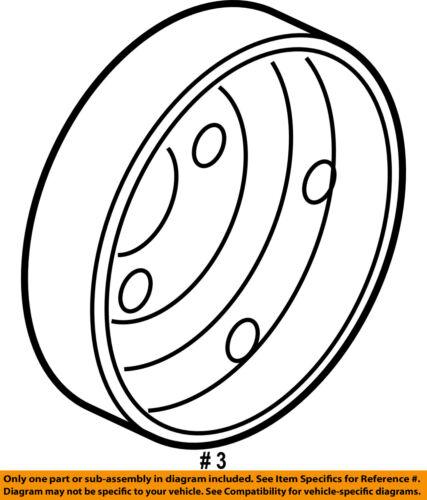 HONDA OEM 16-18 HR-V 1.8L-L4 Water Pump-Pulley 1922451BH01
