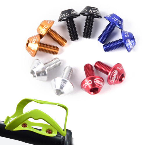 Bicycles Water Bottles Cage Holders Screws Bolts Durable Colorful Bike Accessory