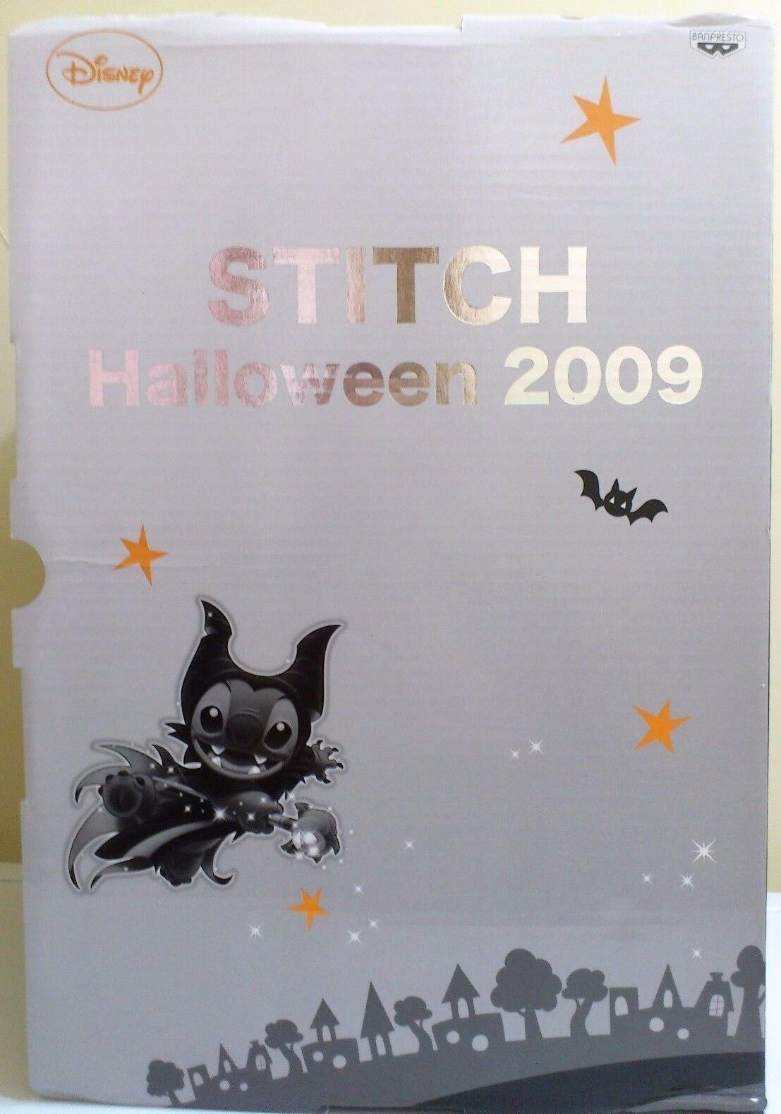 Lilo & Stitch Maleficient Stich Plush Doll Ltd japan (2009) Mycket sällsynt  Ny