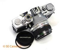 RARE OLYMPUS M-1 35MM SLR CAMERA + OLYMPUS M-SYSTEM 50MM F1.8 LENS - like OM1