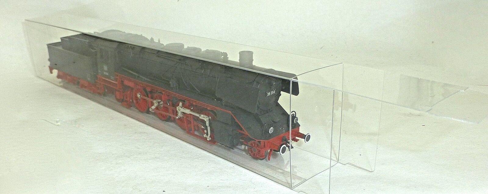 50 Pezzo 300x55x40mm Confezione Locomotiva Scatola Trasparente Pieghevole 1:87