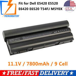 9 Cell Battery For Dell Latitude E6440 E5420 E6430 T54FJ M5Y0X E6420 E6520