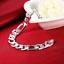 Mens-Womens-925-Sterling-Silver-12mm-Figaro-Cuban-Flat-Link-Chain-Bracelet-B429 thumbnail 3
