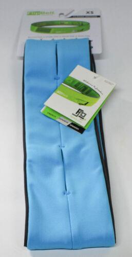 FlipBelt Klassischer Lauf Gürtel mit Taschen XS Himmelblau