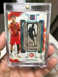 2019-20-Impeccable-Trae-Young-No-Auto-Ounce-Fine-Silver-999-RC-8-15-Logoman