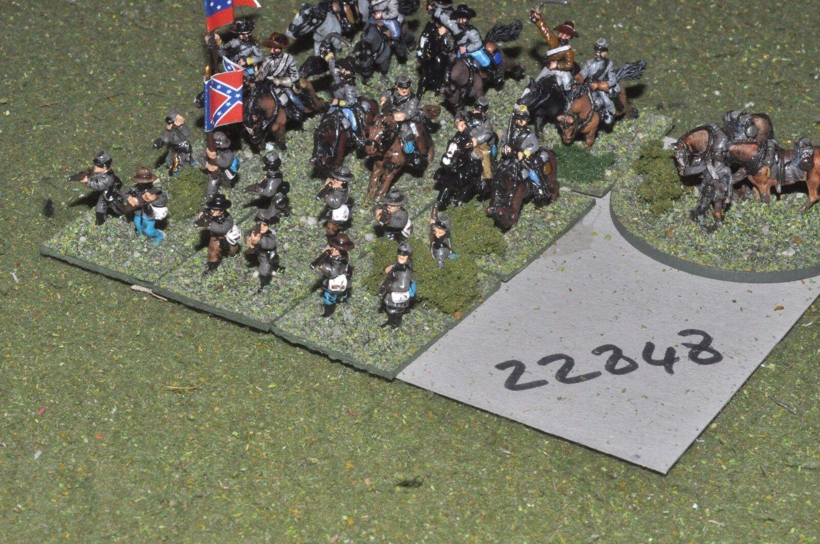 15 acw   konföderierten - regt.27 angaben - cav (22848)