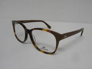 cbf3cbb55a2 Image is loading Lacoste-L2738-214-Havana-53mm-Eyeglasses-Rx-2738