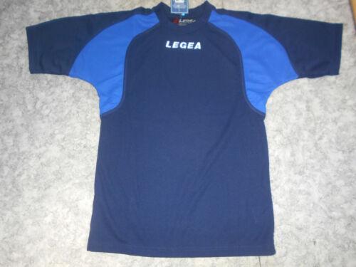 S,M,L,XL LEGEA,feste Qualität,blau/azur,Gr Freizeit-& Sport-Shirt SANTORINI v