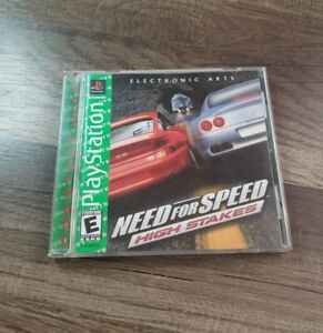 Need for Speed High Stakes (Sony PlayStation 1, 1999) PS1 CIB Complete