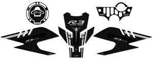 Kit-Adesivi-in-resina-3D-Protezioni-per-Moto-compatibili-Yamaha-YZF-R3-2019-2020