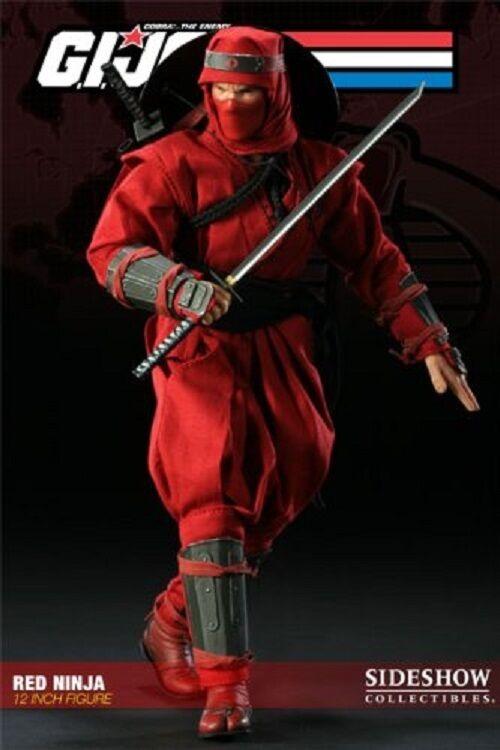 1 6 G.I. Joe Cobra rot Ninja 12  Figure Sideshow Collectibles Used