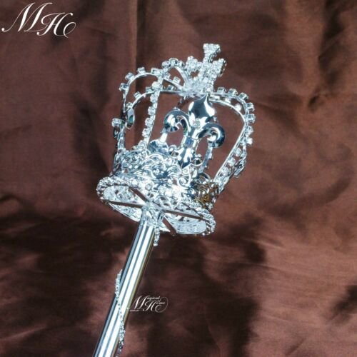 Cross Scepters Wand Imperial Medieval Sceptres King Pageant Party Costumes Props
