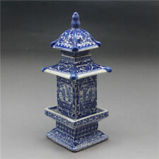 Collecting Antique Chinese blue and white porcelain layered tower Vases
