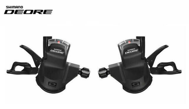 Pair Shimano Deore XT M780  Rapid Fire Pods 10 Speed Clamp